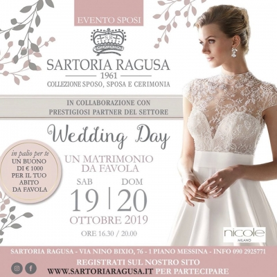 Wedding Day Sartoria Ragusa: 19 e 20 Ottobre 2016 Messina