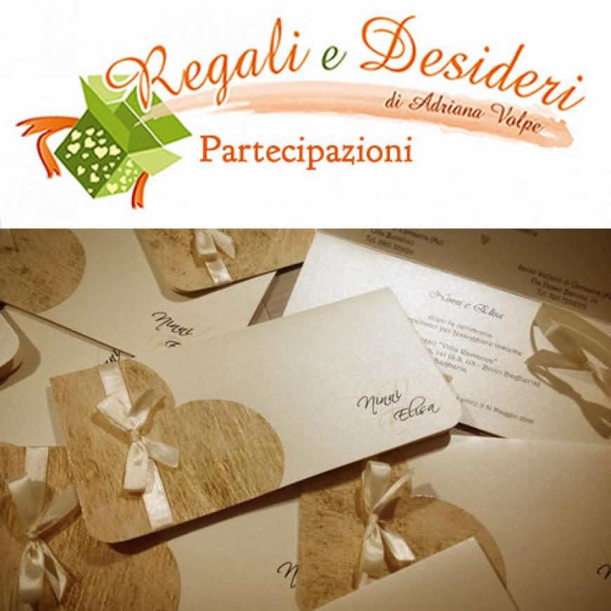 Famoso Regali E Desideri: Partecipazioni Matrimonio - Sposisicilia.com TT83