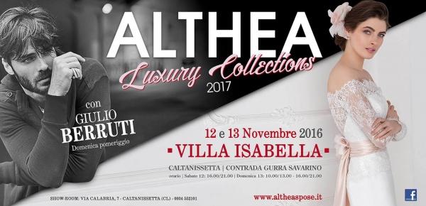 Althea luxury collections 2017 12 e 13 novembre 2016 for Villa isabella caltanissetta