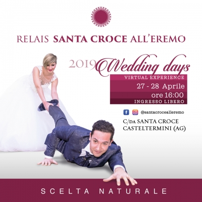 Wedding days 2019: 27 e 28 Aprile 2019 Casteltermini (AG)