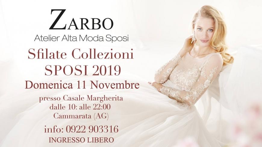 Abiti Da Cerimonia Zarbo.Sfilate Collezioni Sposi 2019 Atelier Zarbo 11 Novembre 2018 San