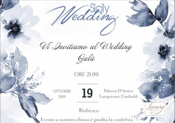 Una serata dedicata al wedding, quella del 20 ottobre 2019