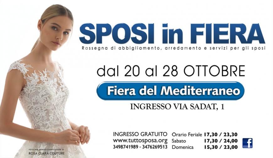 6828170e79b5 SPOSI IN FIERA DAL 20 AL 28 OTTOBRE 2018 PALERMO - Sposisicilia.com