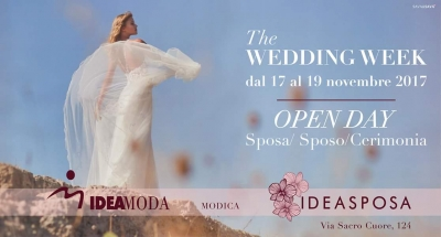 The Wedding Week: Dal 17 al 19 Novembre 2017 Modica (RG)
