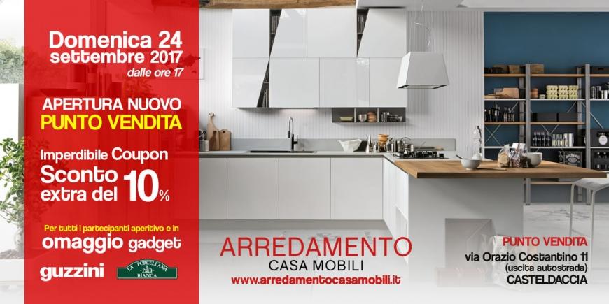 Apertura nuovo punto vendita 39 arredamento casa mobili 39 24 for Vendita arredamento