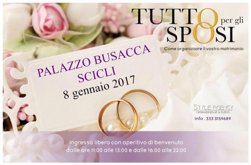 a602242356d0 Tutto per gli Sposi  8 Gennaio 2017 Scicli (RG) - Sposisicilia.com