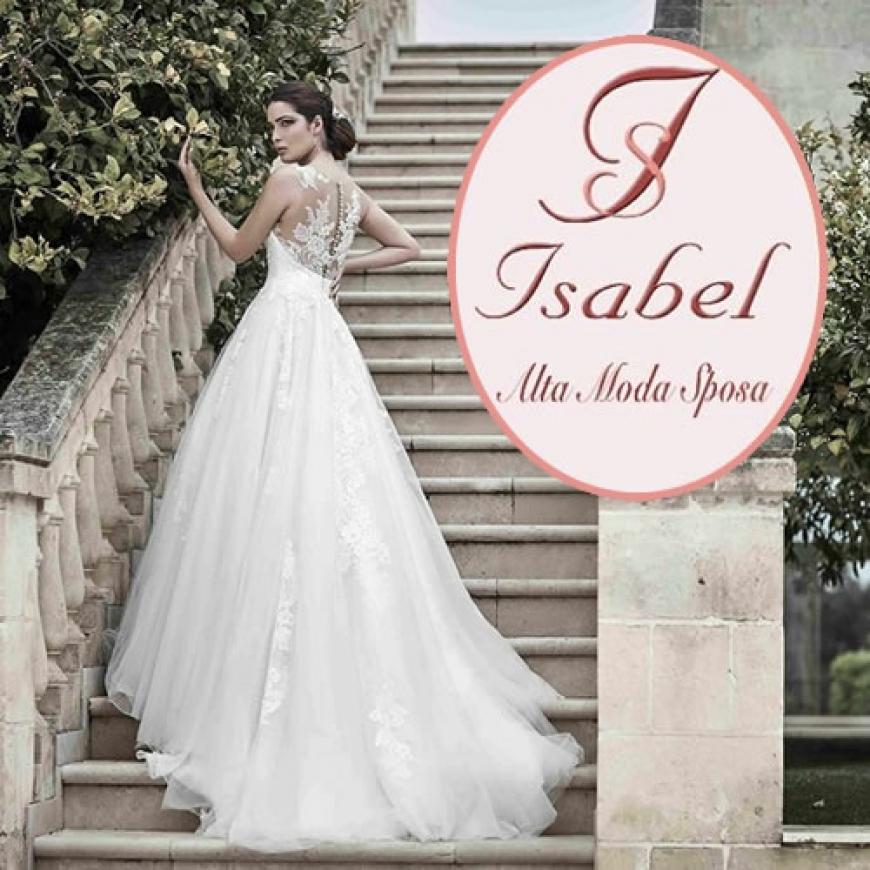 spesso Isabel Alta Moda: Abiti da Sposa - Sposisicilia.com VS78